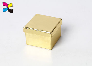 China Color de oro plegable impreso papel modificado para requisitos particulares Eco de la caja de regalo del plano de la cartulina - amistoso fábrica